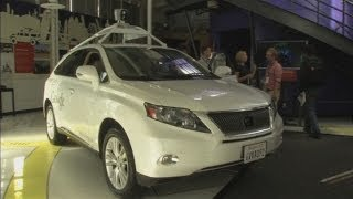 (Google) shows off its driverless cars in California  5/26/14
