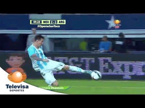 Gol de Lionel Messi 2-2 | México vs Argentina | Televisa Deportes