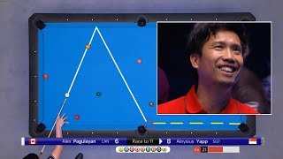 Best Shots 1/8 US OPEN 9 BALL 2019 part 1