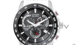 Citizen Radio Controlled Eco-Drive Watch Setting Instructions AT4000-02E And More Models