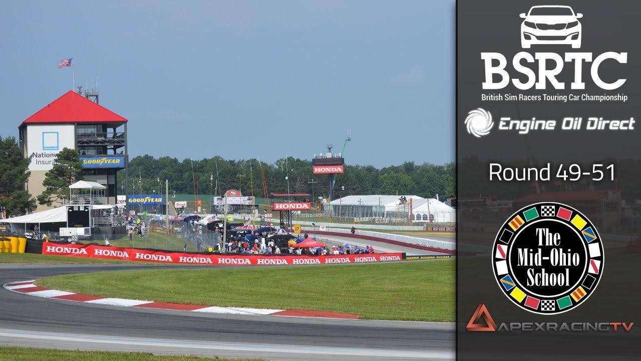 2015 - British Sim Racers Touring Car Pro Series - Round 49 - 51 - Mid Ohio