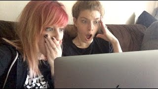 REACTING TO SEXUAL VIDEOS