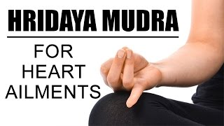 Hridaya Mudra | For Heart Ailments