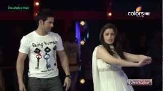 Karan Johar Dancing on the song Radha from movie Student of the year on Bigg Boss
