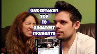 Undertaker Top 10 Greatest Moments REACTION!
