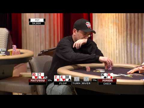 National Heads Up Poker Championship 2009 Episode 1 5/5 Video