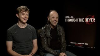 Dane DeHaan and Lars Ulrich Interview: METALLICA THROUGH THE NEVER
