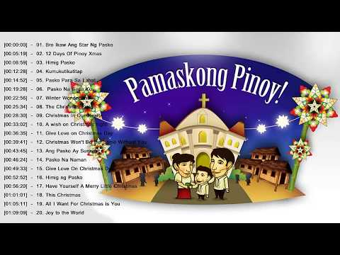 Paskong Pinoy  Best Tagalog Christmas Songs Medley - OPM Tagalog Christmas Songs New 2018