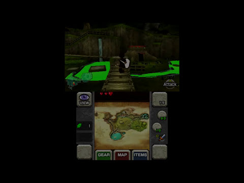 Citra running Ocarina of Time 3D Near Fullspeed with OpenGL Renderer