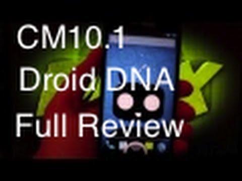 HTC Droid DNA Cyanogen Mod 10 CM10 [FULL REVIEW]