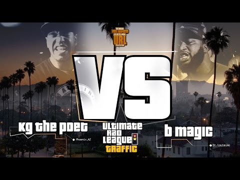 B MAGIC VS KG THE POET SMACK/ URL RAP BATTLE
