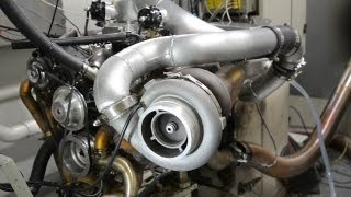 BOOSTING a V8 Chevy - KANARIS Engines