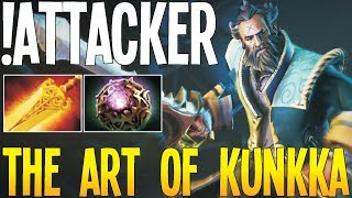 !Attacker, World's Best Kunkka The Art of Kunkka Epic Gameplay | Dota 2 Pro Gameplay