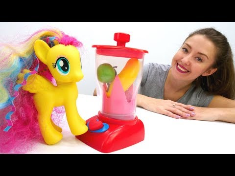 Видео для детей - Литл Пони и Блендер - Веселая школа