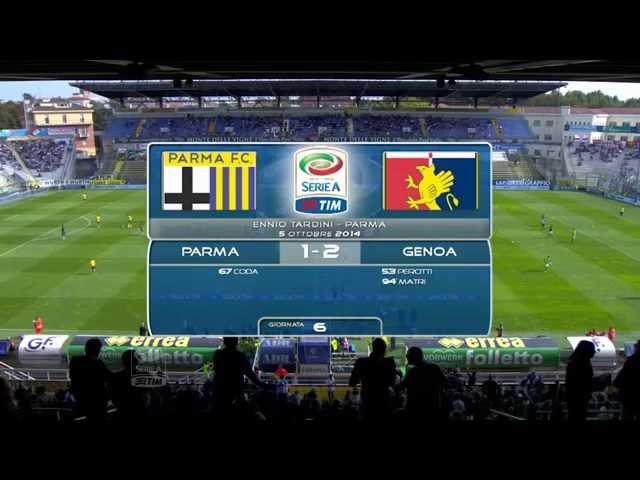 Parma Genoa 1-2 gli high lights