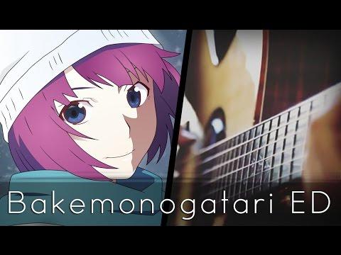 Kimi No Shiranai Monogatari - Bakemonogatari ED (Acoustic Guitar)【Tabs】