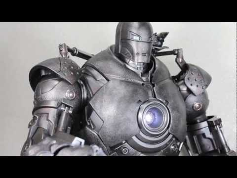 Iron Man Movie Hot Toys Iron Monger 1/6 Scale Collectible Figure Review