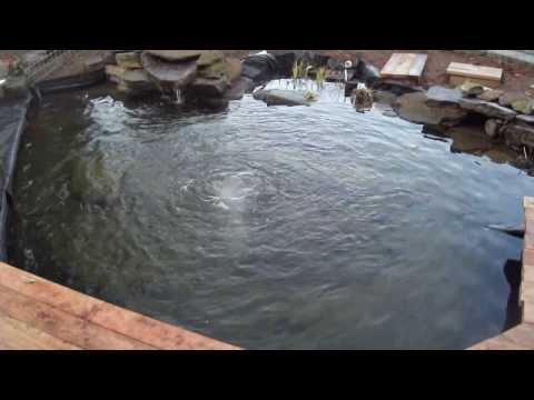 Kass koi pond bottom drain how to save money and do it for Koi pond drain
