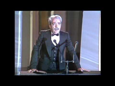 Discurso del presidente Giménez Rico en los Goya 1989