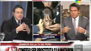 Asesinato en Perú por un reality show (América Noticias) Parte 1
