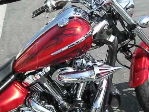 Yamaha Raider 2 into 2 Vance & Hines Exhaust pt 3 Video