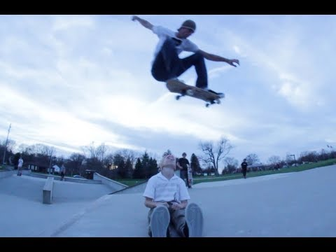 RVNG! 1: Skater Ollies Over Child!