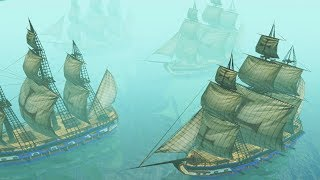 Powerful Warship Fleet Attacked by Pirates | Age of Empires III Campaign Gameplay