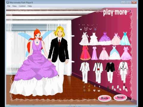 Игры винкс свадьбы винкс