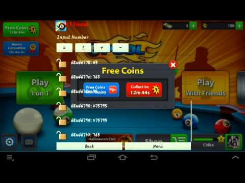 How to hack 8 ball pool permanent (android)gamecih