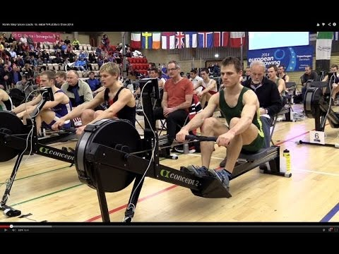 Henrik Stephansen equals his 2k indoor WR at Euro Open 2014