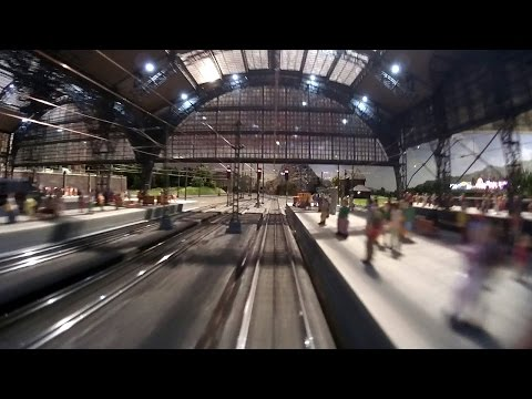 The new model train show in Germany by Marklin