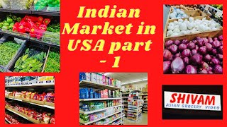 Indian market in USA PART - 1