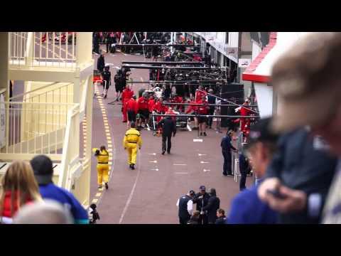 Formula 1 Finish Practice 1 Monaco 2015, Tribune K