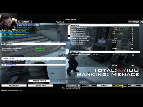 STOPPING DIAMOND THIEVES - SWAT 4