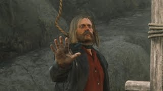 Hanging Micah Bell in Red Dead Redemption 2