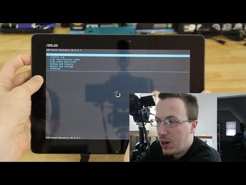 How To Easily Unroot and Flash your Transformer Pad TF701T back to Stock!