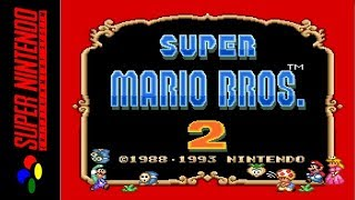 [LONGPLAY] SNES - Super Mario All-Stars - Super Mario Bros 2 (HD)