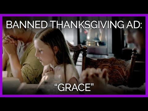 Grace : PETA s Banned Thanksgiving Ad