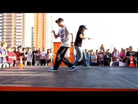 Уличные танцы: Popping (Iyoka & Wils)