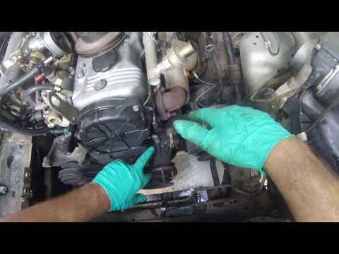 Water Pump Removal Isuzu 4 cylinder