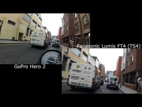 GoPro Hero 2 vs Panasonic Lumix DMC-FT4 (Lumix DMC-TS4)