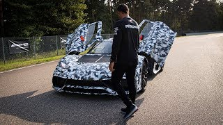 Lewis Hamilton's First Look at the Project ONE on Track!