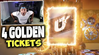 4 GOLDEN TICKET PULLS!! GREATEST PACK OPENING EVER - Madden 20