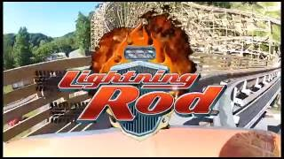 Lightning Rod OPEN Front and Back Combo