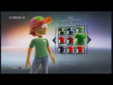 Xbox 360 Mods : Unlock All Avatar Clothes (Tutorial) Video