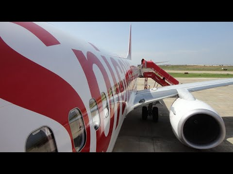 SpiceJet Boeing 737-800 Landing at Madurai Airport [SG 291]