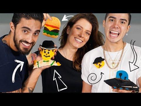 PANCAKE ART CHALLENGE con MARIO BAUTISTA - ¡DIBUJOS QUE SE COMEN! | DACOSTA'S BAKERY thumbnail