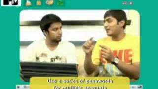 MTV What the Hack! Season 1 Episode 1 Ankit Fadia VJ Jose www.ankitfadia.in/MTV-What-the-Hack.html