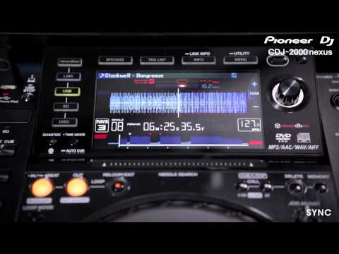 Pioneer CDJ-2000 Nexus. Синхронизация и пр.