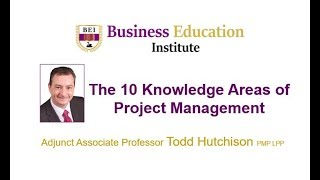 Project Management The 10 Knowledge Areas Explained